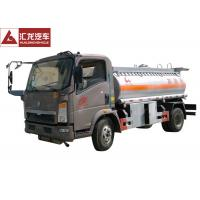 Light Chassis Fuel Oil Truck , Heacy Duty Fuel Transport Trucks  Single Cabin Manufactures
