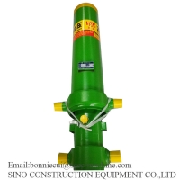 20Mpa  26T 3 Stages 3260Mm Truck Oil Hydraulic Cylinder Manufactures