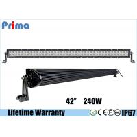Cheap Double Row Combo 42 Inch LED Car Light Bar High Bright 240W DC 9V - 32V for sale