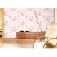 Cheap Eco-Friendly Low Flammability Living Room Wallpaper , Interior Decorating Wallpaper for sale