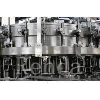 Automatic Bottle Carbonated Soft Drink Beverage Filling Machine / Bottling Machine Manufactures