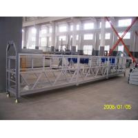 Steel Aerial Lifting Powered Suspended Platform Cradle 800 Rated Load Manufactures