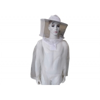 Transparent Beekeeping Protective Clothing Bee Safety Clothing With Veil And Zipper