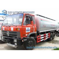 China 10 Wheel Chemical Tanker Truck 20000 Litres Carbon Steel 210 hp Dongfeng on sale