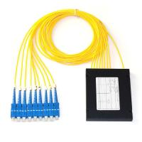ABS Box Type Fiber Optic PLC Splitter 1x8 2.0mm Sc/Upc Connector Compact Design Manufactures