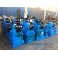 Self Aligned  Conventional Welding Rotator For Pipe Tank Pressure Vessel Boiler 60T Manufactures