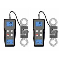 Blue Backlight Handheld Digital Force Gauge N / Kg / Lb Push Force And Pull Force Manufactures
