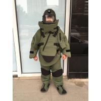 Buy cheap Washable Fire Retardant Bomb Disposal Equipment EOD Bomb Suit Backbone Protector from wholesalers