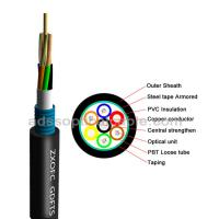 GDTS Hybrid Fiber Optic Cable Ultraviolet Prevention With Steel Tape Manufactures