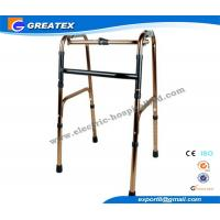 Folding Rollator Walker With One Button , walkers medical equipment for Disabled Elderly Manufactures