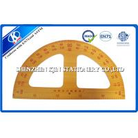 Long Wooden Teaching Ruler Set Protactor Setsquare Compasses For Teacher 50cm