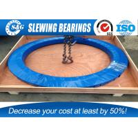 Extra Large Three Row Roller Slewing Bearing For Bucket Wheel Excavators