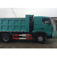 SINOTRUK HOWO A7 Construction Tipper Dump Truck 6 X 4 290HP In Blue Color Manufactures