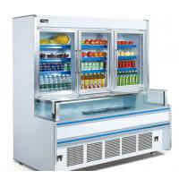 Vertical 1.8m 2.5m Combination Freezer For Supermarket Easy Moving Manufactures