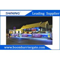 Smart Electronic Traffic Barrier Gate / Driveway  Barrier Gate For Advertising