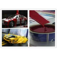 Red Resin Automotive Spray Painting , Liquid Coating Custom Spray Paint Manufactures
