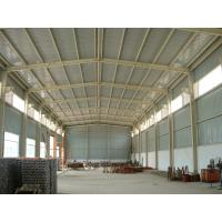 China Galvanized Pre Engineering Steel Structure Warehouse Waterproof With Cladding Panel on sale