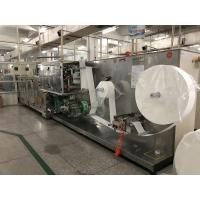 Quality 10 In One Wet Wipes Making Machine Production Line GM-082S 30bags/min Stacking Speed for sale