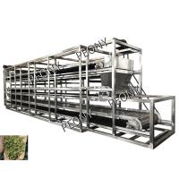 Continuous Heated Conveyor Belt Dryer Air Circulation Herbal Drying Machine Manufactures