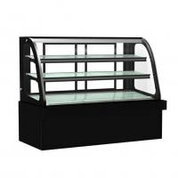 50HZ Commercial Cake Display Freezer For Coffee Shop Dynamic Cooling Manufactures