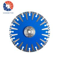 Segmented diamond core bit blade saw blade for cutting granite Manufactures