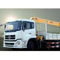 Cheap New XCMG hydralic Telescopic Boom Truck Loader Crane , 8T Truck Mounted Crane CE ISO for sale