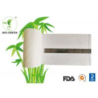 Anti - Bacterial Bamboo Diaper Liners For Cleaning Dry Wipe 15*30cm/sheet Manufactures
