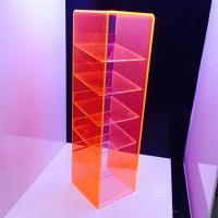 China hottest selling color acrylic cell phone display stands with good price on sale
