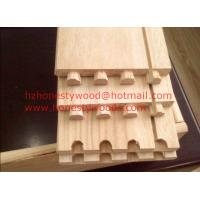 Cheap Paulownia drawer sides and backs, Paulownia drawer component. Dovetail groove for sale