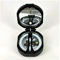 Black Survey Instruments' Accessories Geology Metal Compass With Mirror Manufactures