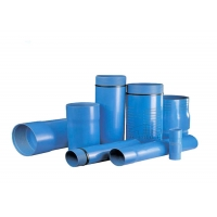CE 63x3000mm Slotted Pvc Well Screen Pipe Manufactures