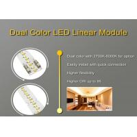 Dual color with 2700k-6000k for option Easily install with quick connection Linear LED Module Manufactures