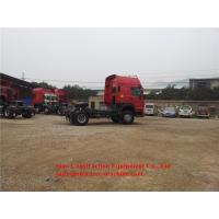 Large Capacity Heavy Duty Tractor Truck 4x2 290 hp 6 Wheeler Tow Truck Manufactures