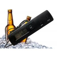 Time Display Cold Chain Refrigerator Freezer Thermometer With Indoor Outdoor Sensors Manufactures