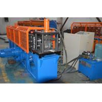 Cheap Durable Omega  Shape Metal Stud Roll Forming Machine / 5.5KW Main Motor Power Furring Channel Equipment for sale