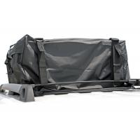 Large Capacity Black Rooftop Cargo Bag Protects Against Grit / Sun / Wind