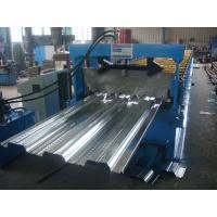 High Buildings Deck Roll Forming Machine Panasonic PLC Control Manufactures