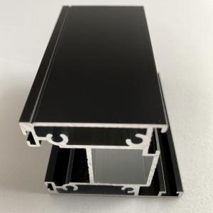 Sandblasting Powder Coated Anodized Aluminum Profiles T6 Temper Manufactures