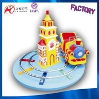 coin and battery operated track train rides amusement park kids happy trains Manufactures