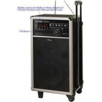 China Powerful rechargeable Portable Wireless PA System Amplifier with CD Player for Conference  on sale
