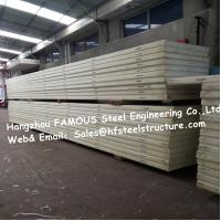 China China Sandwich Panel Manufacturer Supply Cold Room Panel Pu Insulated Material And 950mm Width on sale