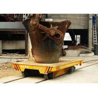Buy cheap Furnace Material Transfer Hot Metal Slag Pot Truck On Steel Track With Heat-Resisting Function from wholesalers