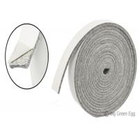 White Thick Sealing Felt Fabric Fireproof Felt High Temperature Resistant Manufactures