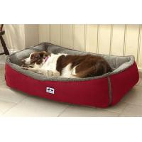Buy cheap Soft Memory Foam Bolster Dog Bed Heavy Suede Covered 12lbs Weight Orthopedic from wholesalers