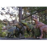 Attractive Robotic Life Size Dinosaur Statues With Dinosaur Alive Roaring Sound Manufactures