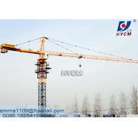 Cheap QTZ80 Hammer-head Electric Tower Crane 56m jib ISO CE GOST EAC Certification for sale