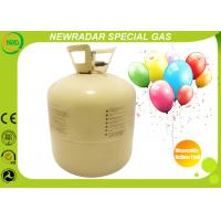 China 30LB / 50LB Disposable Helium Tank High Purity Gas For Celebration on sale