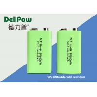 China 9V Rechargeable Battery For Digital Camera , 180mAh Rechargeable Nimh Batteries on sale