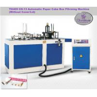 Custom One / Two PE Coated Paper Food Box making Machine For Chicken Box Manufactures
