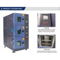 Vehicle Temperature Humidity Test Chamber , 3 Layer Air Cooling Climatic Stability Testing Equipment Manufactures